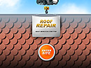 Roof repair Flash Site Template
