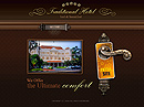 Traditional hotel Flash Site Template