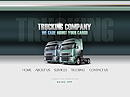 Trucking co. Flash template