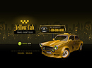 Yellow Taxi Flash template