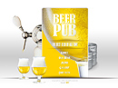 Beer Pub Flash Site Template