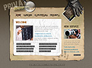 Private detective Flash template