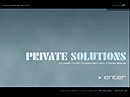 Private Solutions Flash template