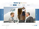 Global business Free HTML5 templates