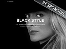Black Style Free bootstrap templates