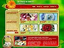 free Worldofflowers website template