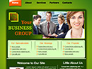 Business group Free HTML template