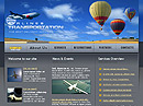 free Tranportation website template