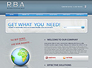 free Business RBA website template