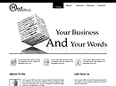 free Business News website template