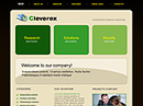 free Cleverex website template