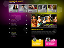 free Night Club website template