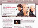 business groupFree HTML template