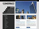 free Contstruction website template