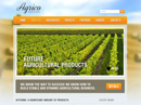 free Agrico website template