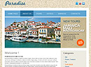 free Paradise website template