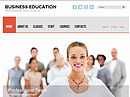 Business School Free HTML template