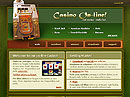 free Casino website template