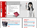 free Hi-Tech website template