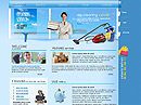 Cleaning co Free Website template