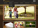 Modern Church v2.5 Joomla template