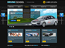 Driving School v2.5 Joomla Template