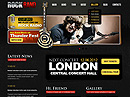 Rock Band v2.5 Joomla Template