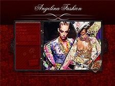 Angelina fashion Flash template