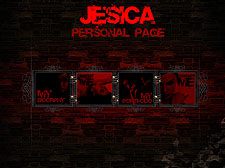 Jesica Flash template
