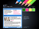 Art design Flash template
