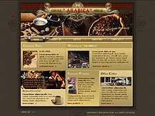 Arabica Coffee Flash template