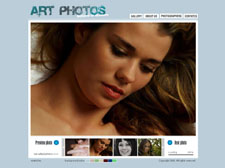 Photo art Flash template