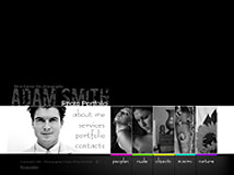 Photo portfolio Flash template