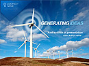 Wind Energy - Powerpoint templates, POWER POINT website templates