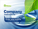 Eco Business - Powerpoint templates, POWER POINT website templates