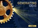 Generating ideas Powerpoint templates