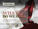 Fashion Company Powerpoint templates