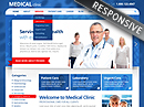 Medical Clinic Wordpress Template