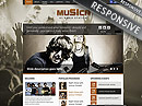 Music Theme Wordpress template