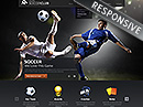 Soccer club Wordpress template