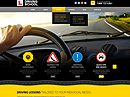 Driving school Wordpress templates