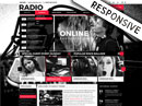 BW Radio Wordpress templates