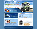 Transportation Website template