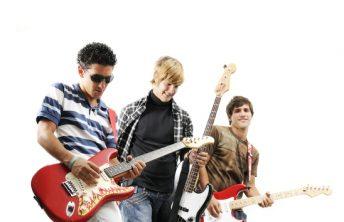 Live rock music